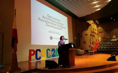Stratpoint CEO attends the 17th Philippine Computing Science Congress in Cebu
