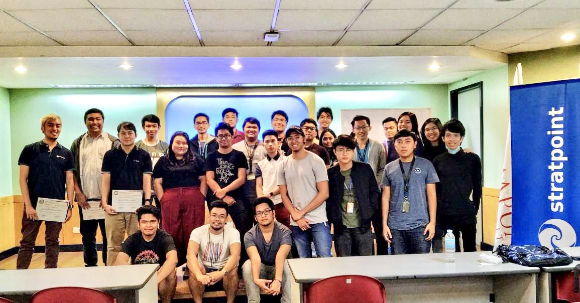 Stratpoint Goes To Mapua
