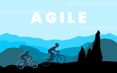 Going Agile is like mountain biking